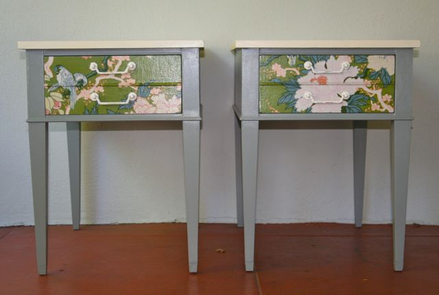 Mid Century Painted Tables